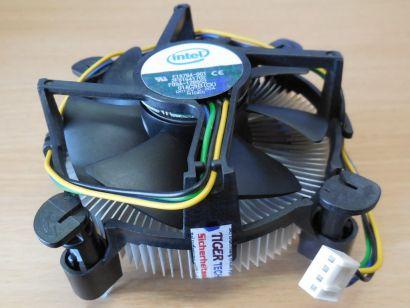 Intel E18764-001 Sockel LGA 775 CPU kühler 12V 0.20A 4-pol 80mm Lüfter Alu*ck339