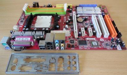 MSI K9N Neo MS-7260 Ver1.0 Mainboard +Blende AMD Sockel AM2 nForce550 DDR2*m1008