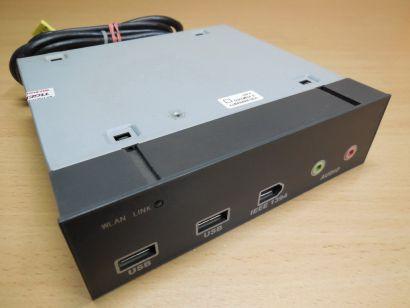 FSC Fujitsu Siemens A533 USB IEEE1394 FireWire Audio Mic 3.5 Front Panel* pz626
