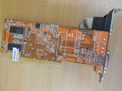 ATI TA9205 V1.06 Radeon 9200 SE RV280 AGP 128MB 64Bit DDR VGA TV-Out DVI* g452