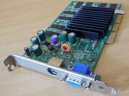 MSI MS-8911 GeForce FX5200 AGP 8x 64MB DDR 128 Bit VGA TV-Out Grafikkarte*g453