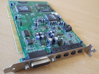 Creative Labs CT4500 SoundBlaster ISA CT8920-DAQ AWE64 16Bit Midi Soundkarte*s66