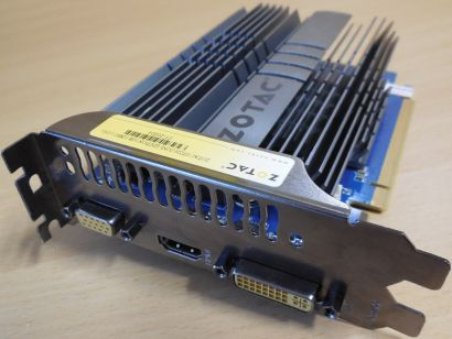 ZOTAC GT220 ZONE Edition GF GT 220 1GB 128Bit DDR2 PCI-E 2.1 DVI-I HDMI VGA*g465