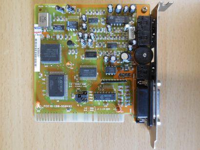 CPS SB 2 AZTECH Sound Galaxy BX II FCC ID 138-SGBX21 8-Bit Retro Soundkarte* s68
