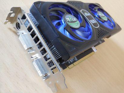 AXLE AX98GT 1GD3P6D2HT GF 9800 GT 1GB GDDR3 256Bit SLI PCIe2.0 VGA VIVO DVI*g466