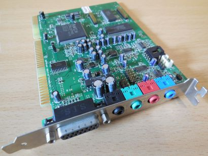Creative Labs CT4520 ISA CT8920-NBQ SoundBlaster AWE64 16Bit Midi Soundkarte*s70