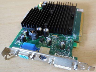 ZOTAC 7600GS nVIDIA GeForce 7600 GS 256MB 128Bit DDR2 PCI-E DVI-I VIVO VGA* g468