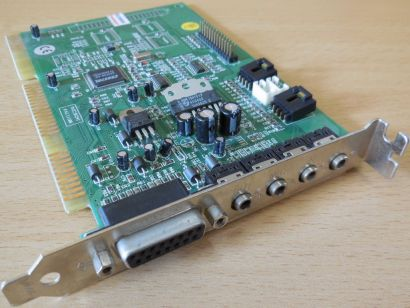 CRYSTAL CS4236-KQ SK241 11100 16Bit KJD-MUSIC16 ISA RETRO Audio Soundkarte* s71
