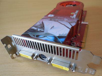 MSI RX1950Pro T2D256E MS-V076 PCIe 256MB 256Bit GDDR3 2x Dual Link DVI HDTV*g472