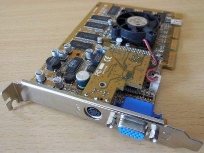 nVIDIA GF-N16 GeForce2 GTS Pro 64MB 128Bit DDR VGA TV-Out AGP4x Grafikkarte*g473