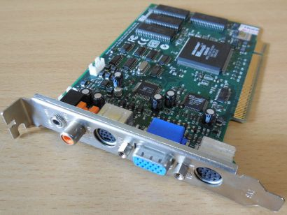 REAL magic EM8300 MPEG-2 DVD Decoder 2MB PCI RETRO VGA S-Video Cinch Klinke*g474