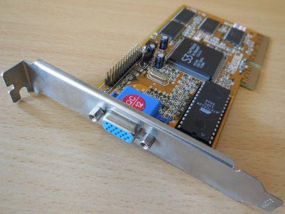 S3 Trio 3D 2X On Board QCE2HC 8MB 64bit SDRAM VGA AGP RETRO Grafikkarte*g478