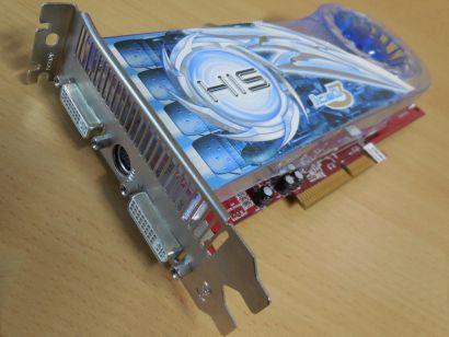 HIS Radeon X1950Pro IceQ3 Turbo AGP 512MB 256Bit GDDR3 HDCP 2x DVI-I HDTV* g479