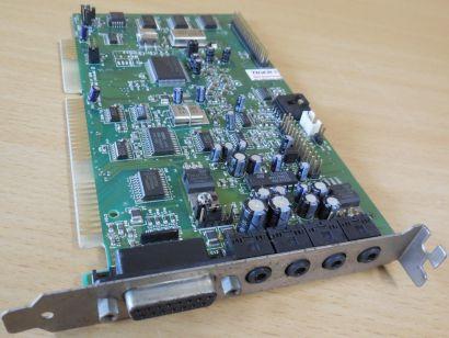 Creative Labs CT2800 Vibra16S SoundBlaster FCCID IBACT-SBV1SS ISA Soundkarte*s72