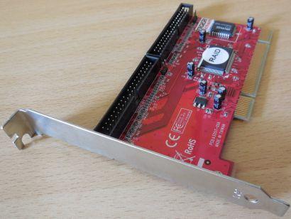 ITE IT8212F UDMA IDE RAID PCI Adapter Karte Controller bis zu 4 IDE Geräte* sk59