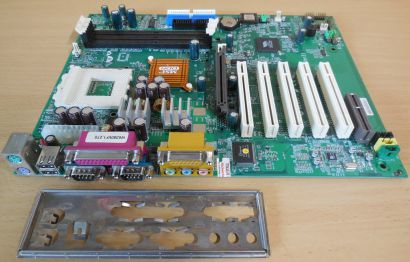 MSI K7T266 Pro2 MS-6380 Ver3.0 Mainboard +Blende Sockel A 462 DDR AGP Audio*m101
