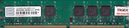 Transcend PC2-4200 1GB DDR2 533MHz CL4 Arbeitsspeicher RAM DIMM* r791