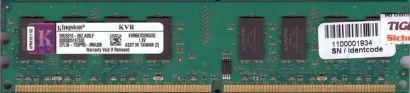 Kingston KVR667D2N5 2G PC2-5300 2GB DDR2 667MHz 99U5316-062 A00LF RAM* r805