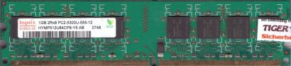 Hynix HYMP512U64CP8-Y5 AB PC2-5300 1GB DDR2 667MHz Arbeitsspeicher RAM* r806