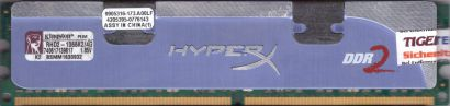 Kingston HyperX 4GB Kit 2x2GB RHD2-1066K2 4G PC2-8500 DDR2 1066MHz RAM* r816