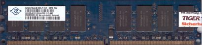 Nanya NT2GT64U8HB0JY-3C PC2-5300 2GB DDR2 667MHz HP 406363-888 RAM Memory* r821