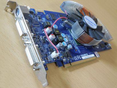 GIGABYTE GV-NX96T512H GeForce 9600GT 512MB 256B GDDR3 SLI PCI-E 2xDVI HDTV* g487
