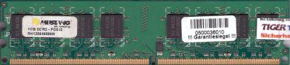 Mustang M4128646506N PC2-4200 1GB DDR2 533MHz CL4 Arbeitsspeicher RAM* r829