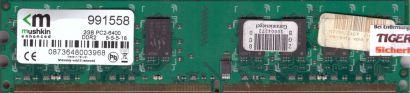 Mushkin 991558 PC2-6400 2GB DDR2 800MHz 5-5-5-18 Arbeitsspeicher RAM* r830
