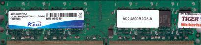 ADATA AD2U800B2G5-B PC2-6400 2GB DDR2 800MHz CL5 Arbeitsspeicher RAM DIMM* r833