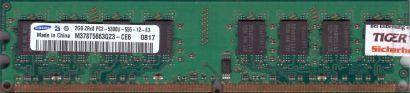 Samsung M378T5663QZ3-CE6 PC2-5300 2GB DDR2 667MHz CL5 Arbeitsspeicher RAM* r835