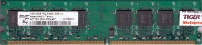 Aeneon AET760UD00-30DA98Z PC2-5300 CL5 1GB DDR2 667MHz Arbeitsspeicher RAM* r836
