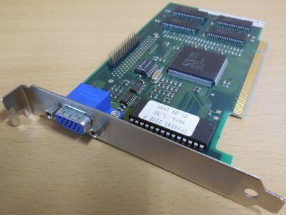 Miro S3 Trio64 Crystal 22SD P Ver1.30 2MB VGA RETRO PCI Grafikkarte 486 386*g489