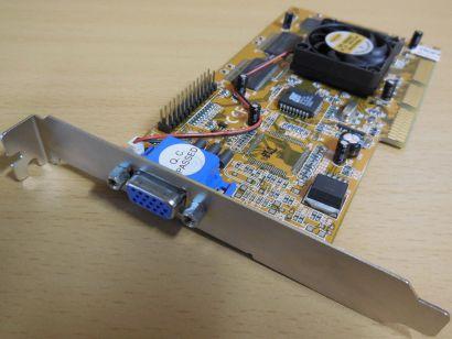nVIDIA RIVA TNT2 M64 32MB 64Bit VA-235 NV5M64 VGA AGP RETRO Grafikkarte* g490