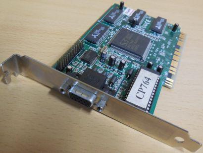 S3 Trio64 Crystal CP764 2MB 64bit VGA RETRO PCI Grafikkarte 486 386* g492