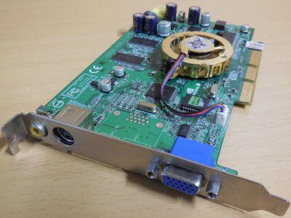 MSI MX440-8X MS-8893 Ver 110 GeForce MX440 AGP 8X 64MB VGA TV-Out Composite*g493