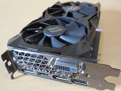 GeForce RTX 2060 Mini 6GB 192Bit GDDR6 PCI-E3.0 HDCP2.2 DVI-D HDMI 3xDP1.4a*g494