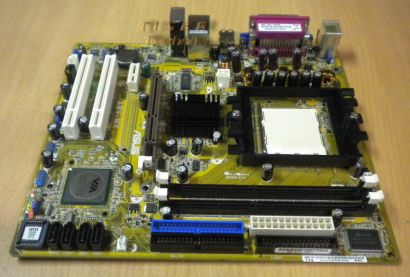 Asus A8V-MX Rev 1.00 Mainboard mit Blende * So 939 AGP 8x LAN USB2.0 SATA *m107