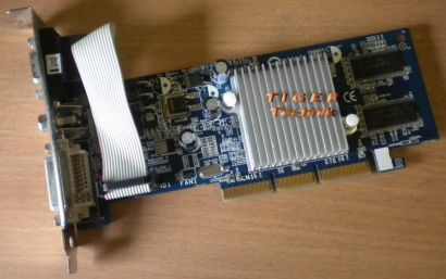 Gigabyte GV-N52128DS-RH GeForce FX5200 Grafikkarte AGP8x 128MB g77