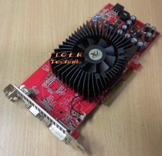 XpertVision GeForce 6800GS Grafikkarte AGP8x 512MB DDR3  g79